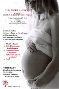 what is a doula? information night