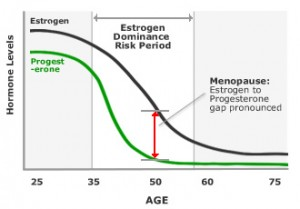 estrogen dominance causing menopausal symptoms